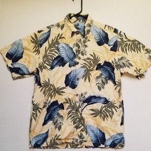 Aftco Bluewater mens Medium fishing Hawaiian shirt